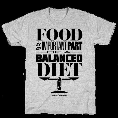Food Diet Mens T-Shirt