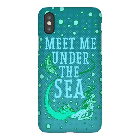 Meet Me Under the Sea Phone Case
