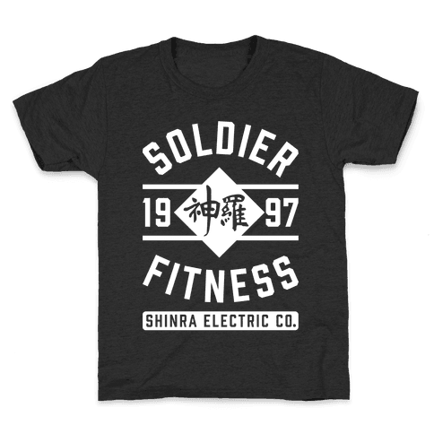 Soldier Fitness Kids T-Shirt