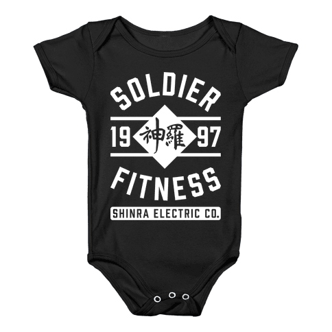 Soldier Fitness Baby Onesy