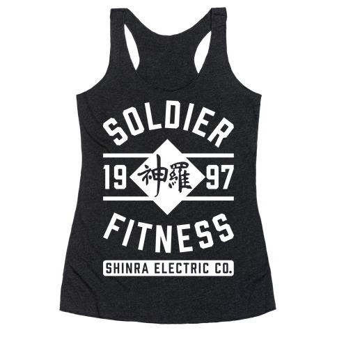 Soldier Fitness Racerback Tank Top