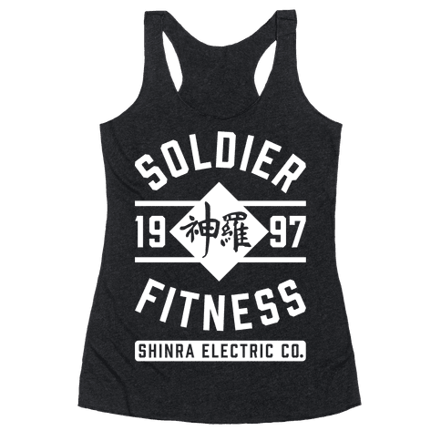 Soldier Fitness Racerback Tank Top