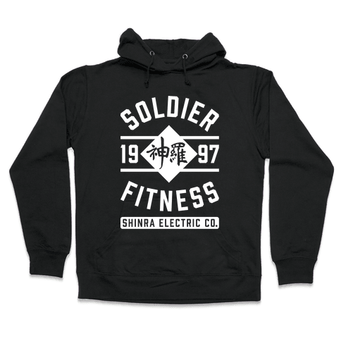 Soldier Fitness Hooded Sweatshirt