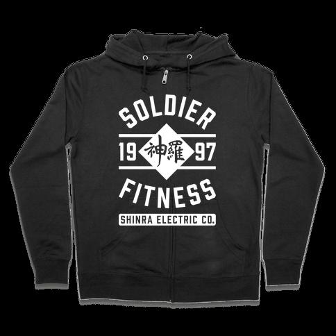 Soldier Fitness Zip Hoodie
