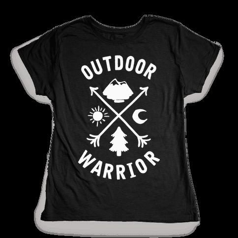 Outdoor Warrior Womens T-Shirt