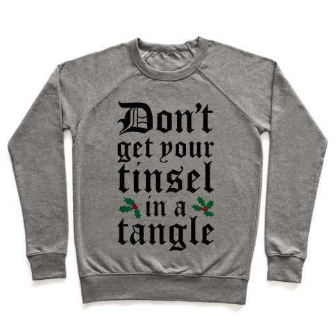 Tinsel Tangle Pullover