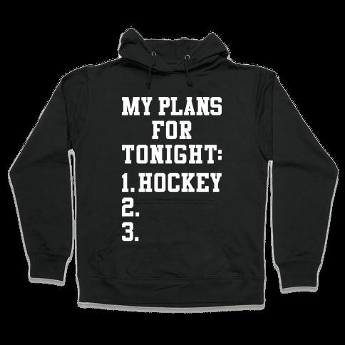 Hockey Plans Hooded Sweatshirt