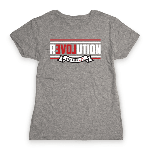 Revolution 2012 Womens T-Shirt