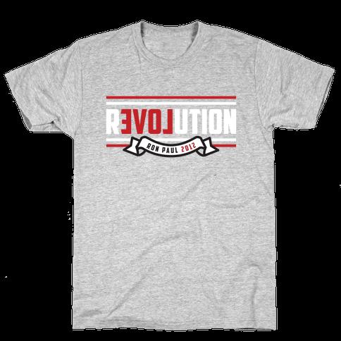 Revolution 2012 Mens T-Shirt