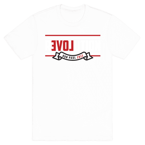 Revolution 2012 Mens T-Shirt