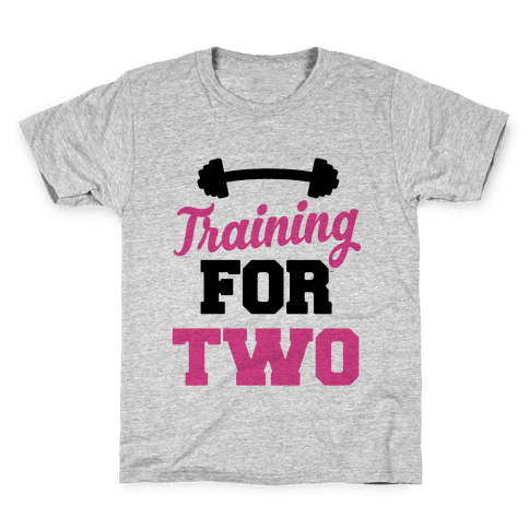 Training For Two Kids T-Shirt