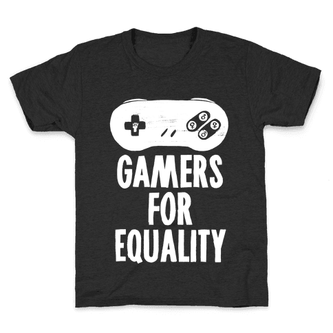 Gamers For Equality Kids T-Shirt