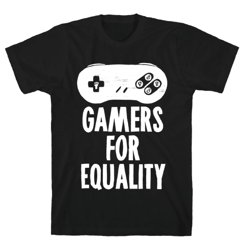 Gamers For Equality Mens T-Shirt