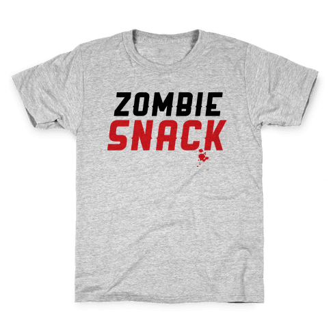 zombie snack Kids T-Shirt