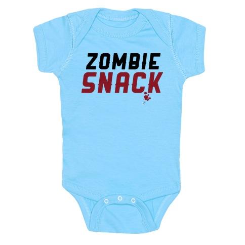 zombie snack Baby Onesy