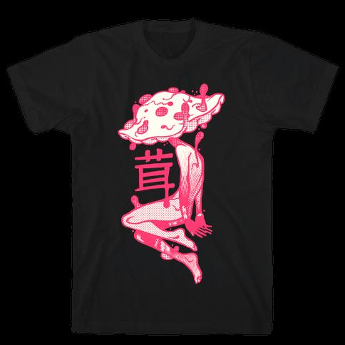 Mushroom Boy Mens T-Shirt