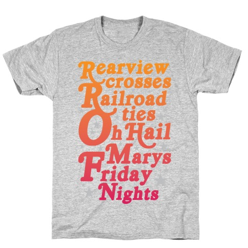 Rearview Crosses T-Shirt