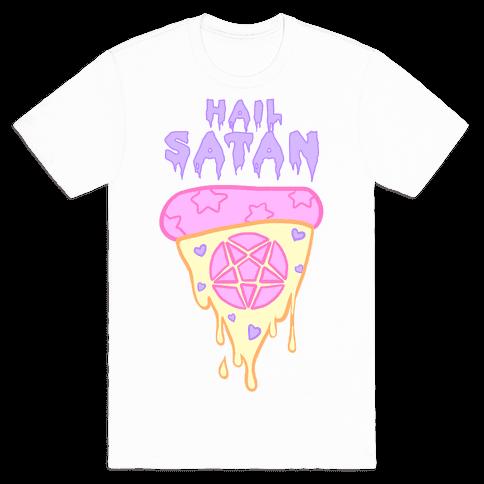 Hail Pizza Mens T-Shirt