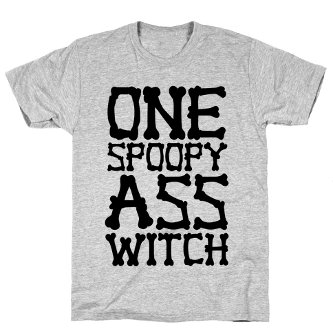 One Spoopy Ass Witch Mens T-Shirt