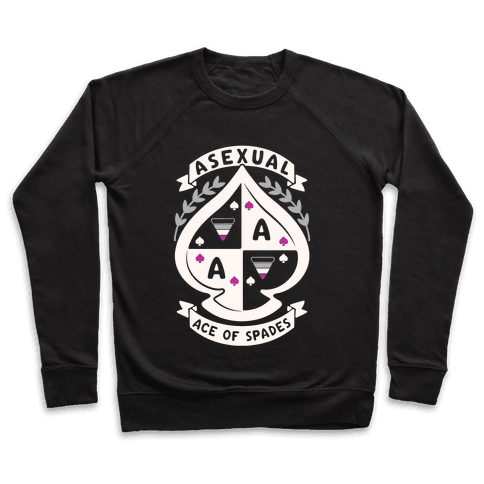 Asexual Crest Pullover
