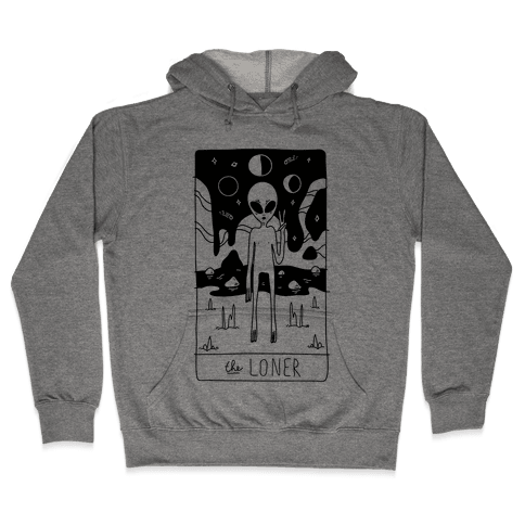 The Loner Tarot Card Hooded Sweatshirt