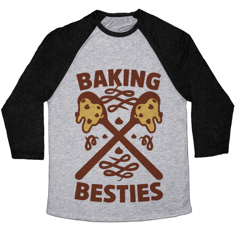 Baking Besties Baseball Tee