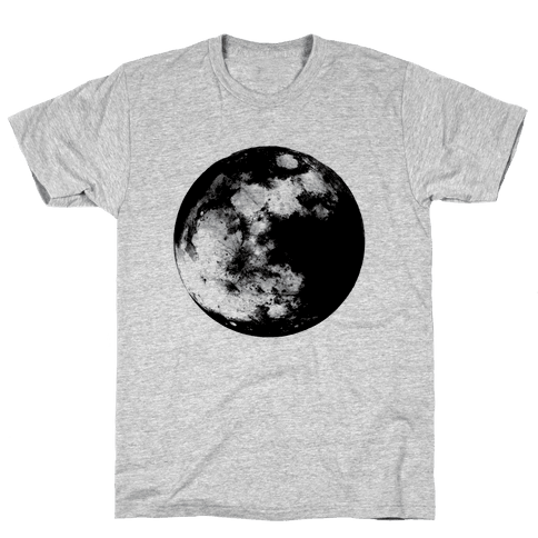 Inverted Moon Mens T-Shirt