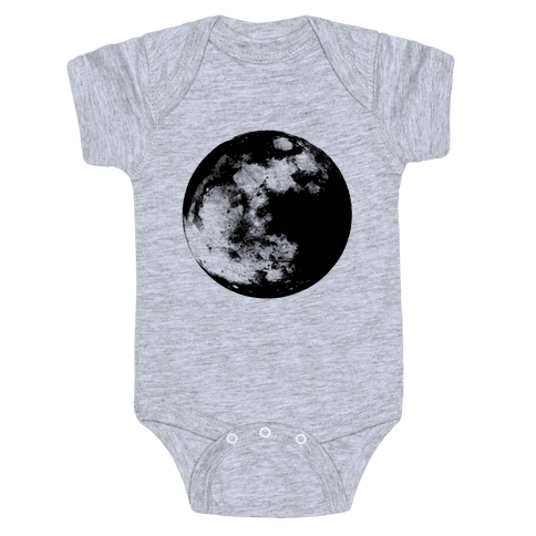 Inverted Moon Baby Onesy