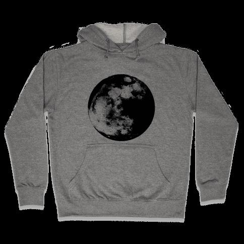 Inverted Moon Hooded Sweatshirt