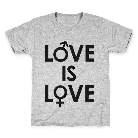 Love is Love (equality design) Kids T-Shirt