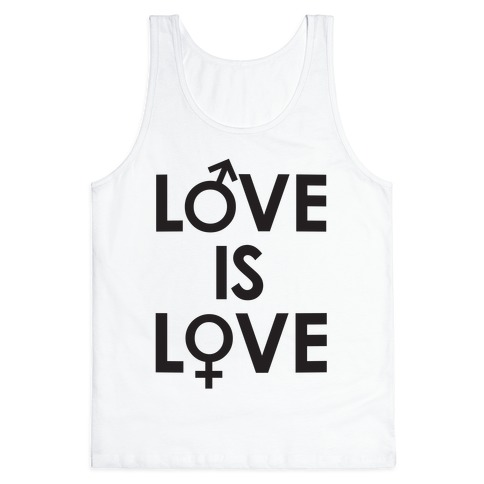 Love is Love (equality design) Tank Top