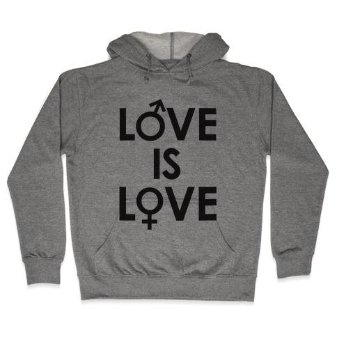 Love is Love (equality design) Hooded Sweatshirt