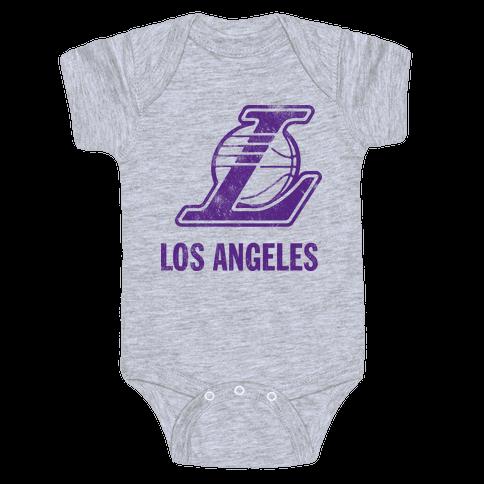 Los Angeles (Vintage) Baby Onesy
