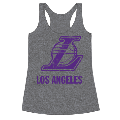 Los Angeles (Vintage) Racerback Tank Top