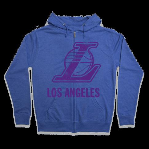 Los Angeles (Vintage) Zip Hoodie
