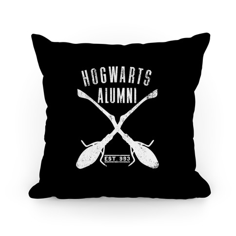 Hogwarts Alumni Pillow