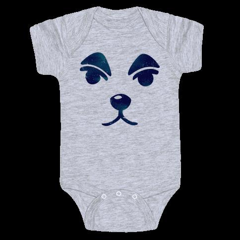 Slider Face Baby Onesy