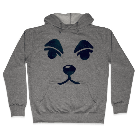 Slider Face Hooded Sweatshirt