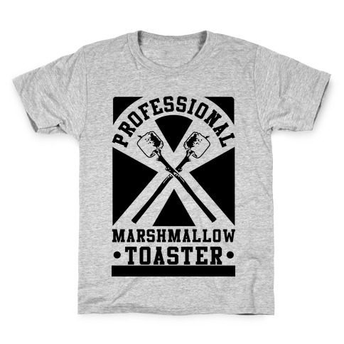 Professional Marshmallow Toaster Kids T-Shirt