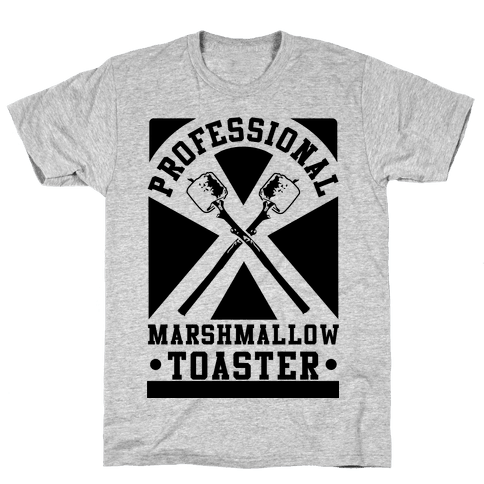 Professional Marshmallow Toaster Mens T-Shirt