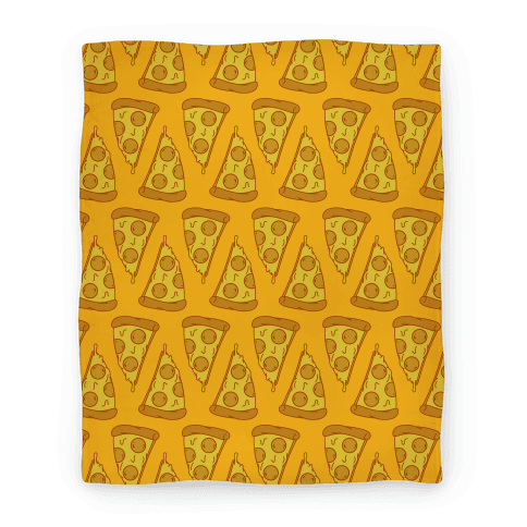 Pizza Pattern Blanket Blanket