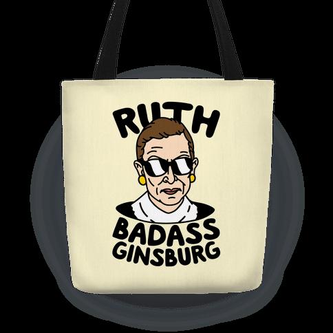 Ruth Badass Ginsburg Tote