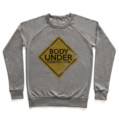 Body Under Construction Pullover