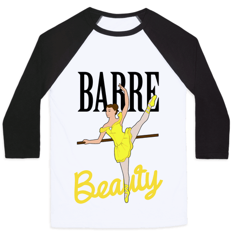 Barre Beauty Baseball Tee