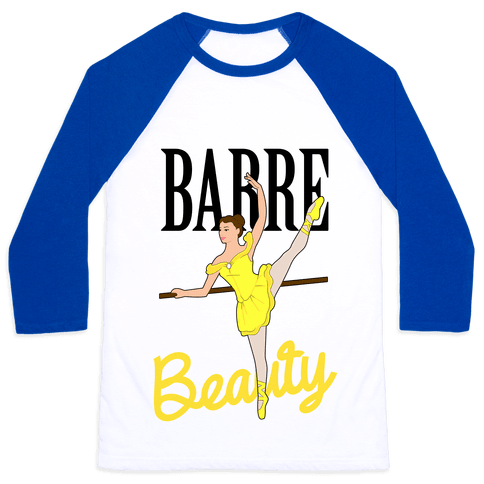 Barre Beauty Baseball Tee