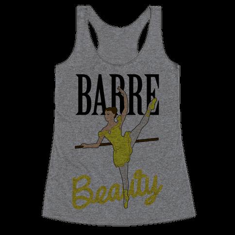 Barre Beauty Racerback Tank Top