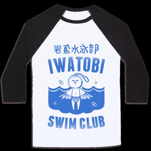 Iwatobi Swim Club Baseball Tee