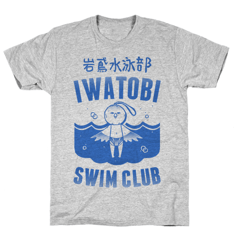 Iwatobi Swim Club Mens T-Shirt