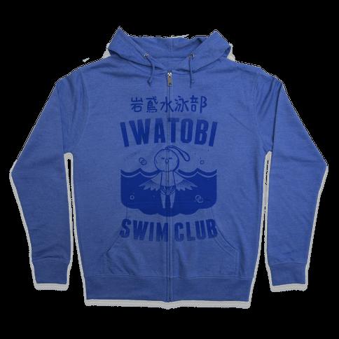 Iwatobi Swim Club Zip Hoodie