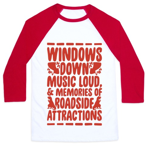 Roadside Attractions Baseball Tee